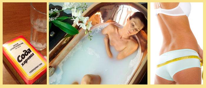 Содовые Ванны Для Похудения Рецепт Отзывы Фото. Чудесные ванны с содой для похудения: рецепты и ожидаемые результаты